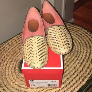 Coach Catrin Straw Loafer Shoe